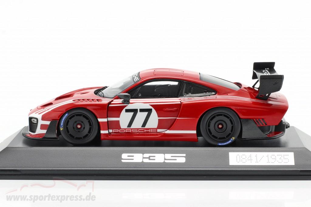 Porsche 935 on Base 911 GT2 RS Clubsport Salzburg #77 red / White