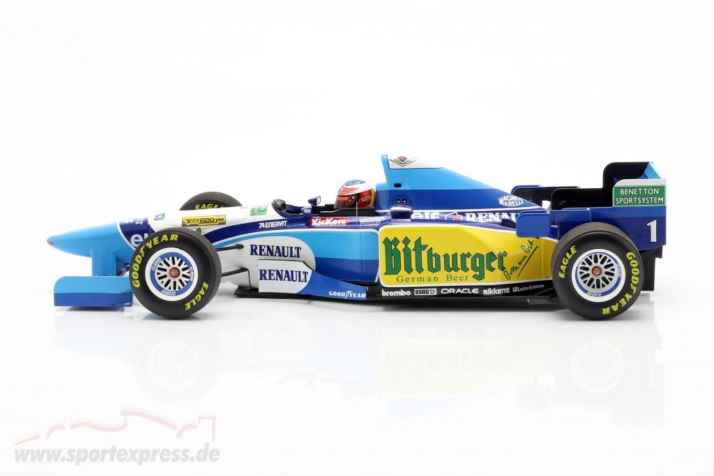 M. Schumacher Benetton B195 #1 Pacific GP F1 World Champion 1995