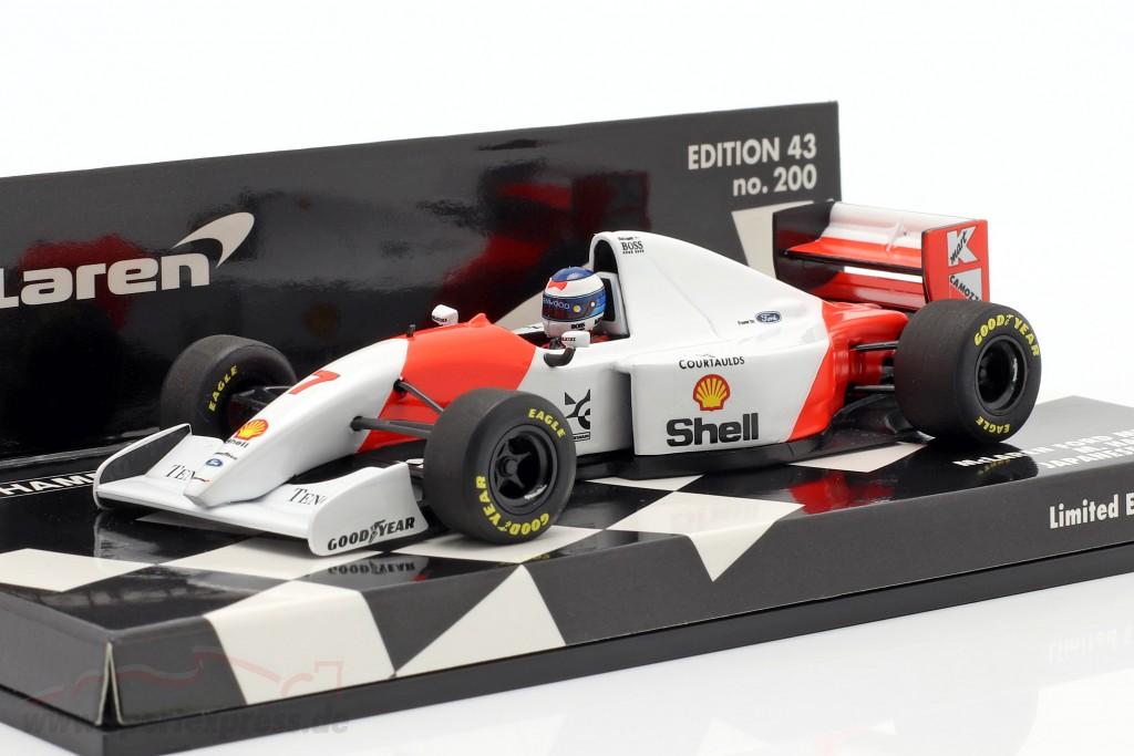 Mika Häkkinen McLaren MP4/8 #7 3rd Japan GP formula 1 1993