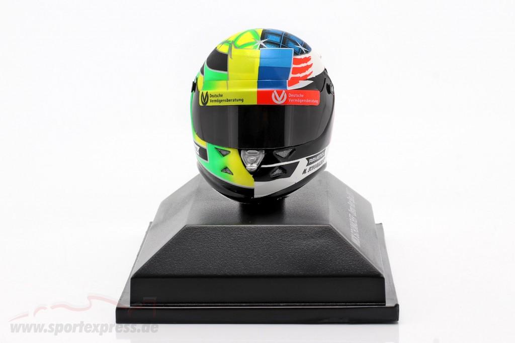 Mick Schumacher Benetton B194 #5 Demo Run GP Spa formula 1 2017 helmet