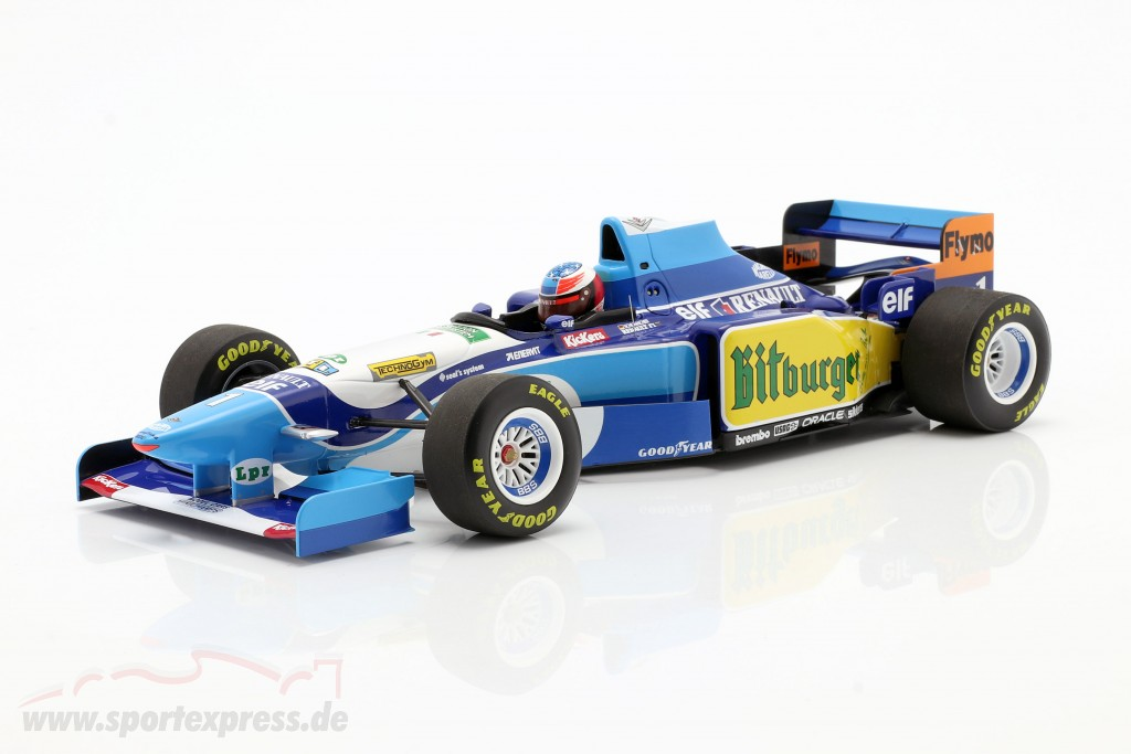 M. Schumacher Benetton B195 #1 World Champion Monaco GP F1 1995