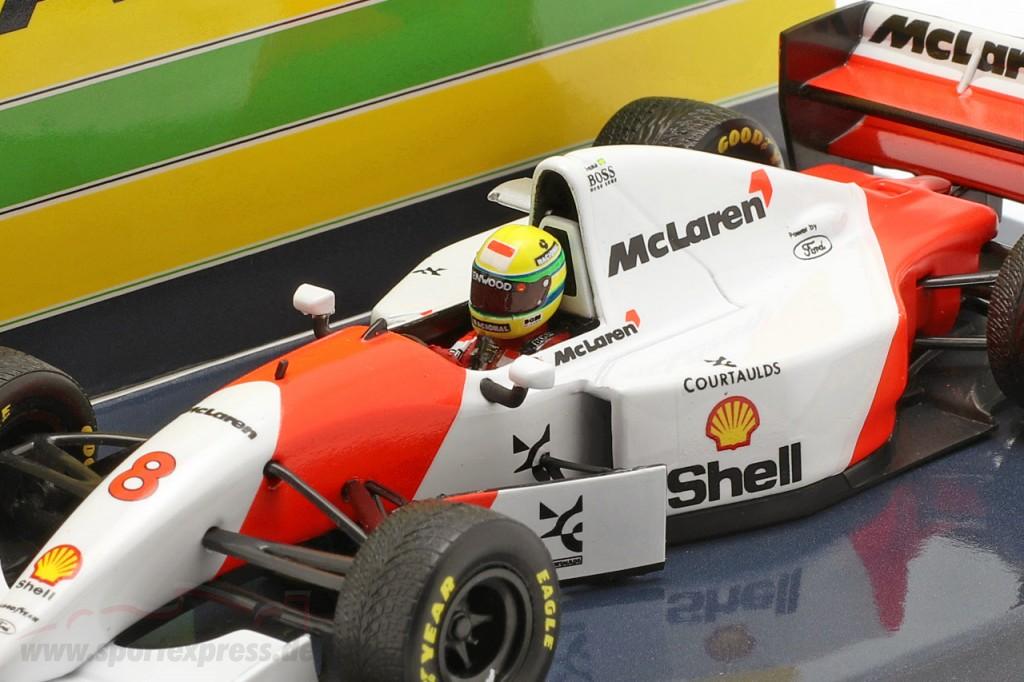 Ayrton Senna McLaren MP4/8 #8 Winner Europe GP F1 1993