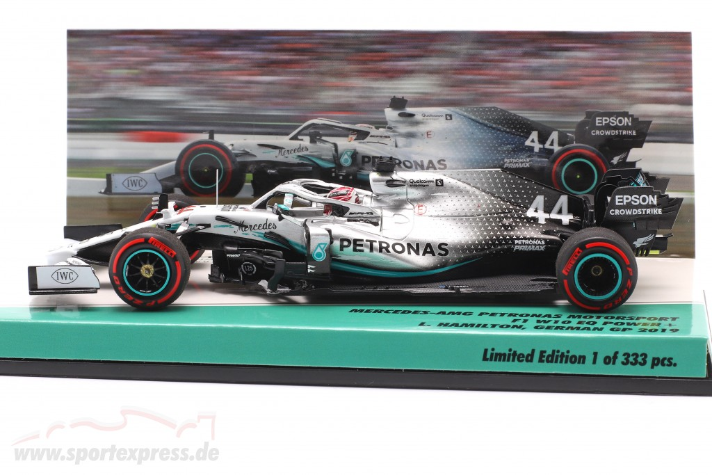 L. Hamilton Mercedes-AMG F1 W10 #44 German GP World Champion F1 2019
