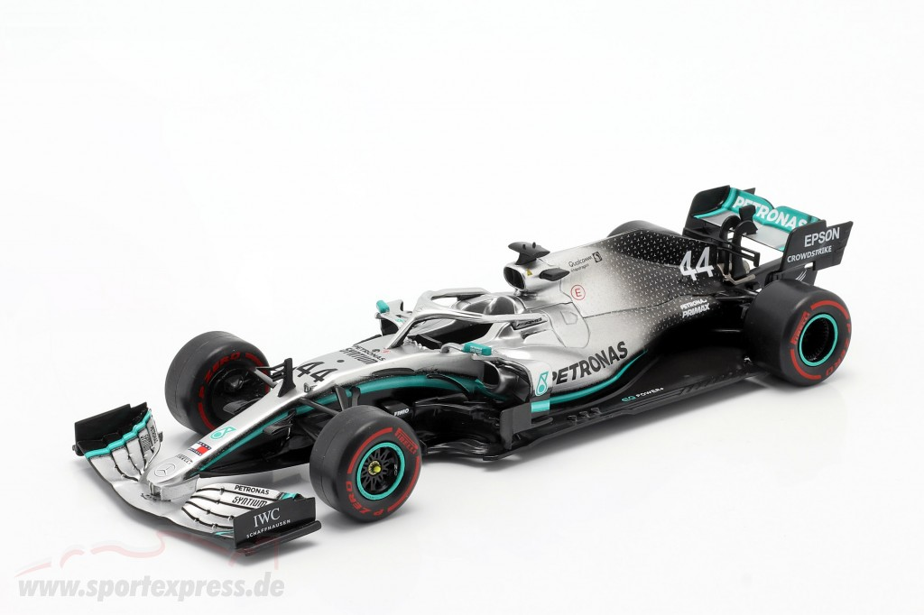 L. Hamilton Mercedes-AMG F1 W10 #44 F1 World Champion 2019