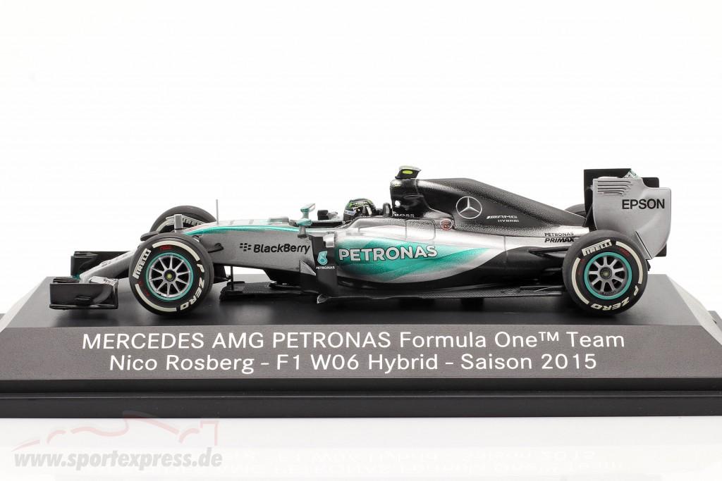 Nico Rosberg Mercedes F1 W06 Hybrid #6 formula 1 2015   MB