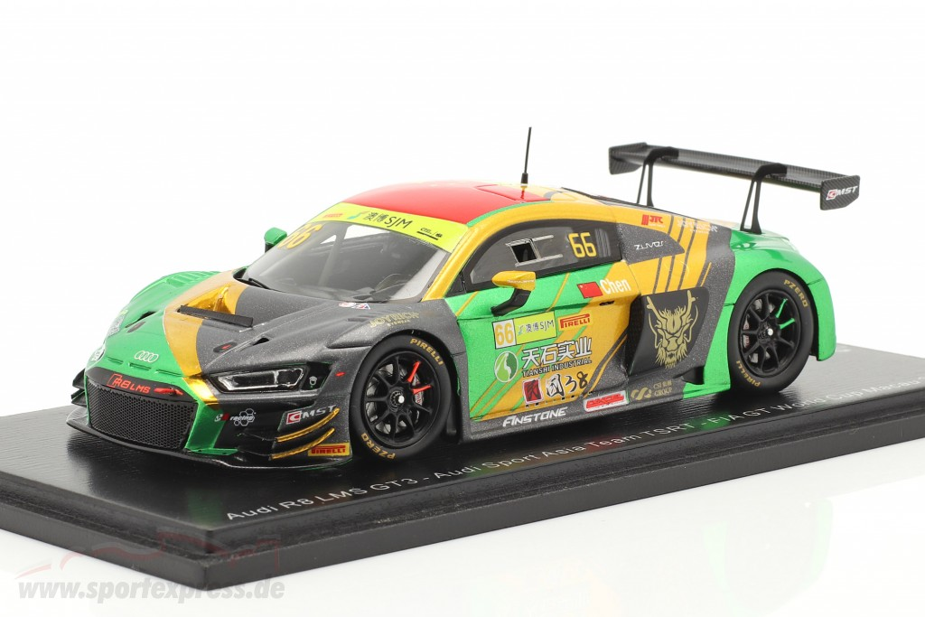 Audi R8 LMS #66 FIA GT World Cup Macau 2019 Weian Chen