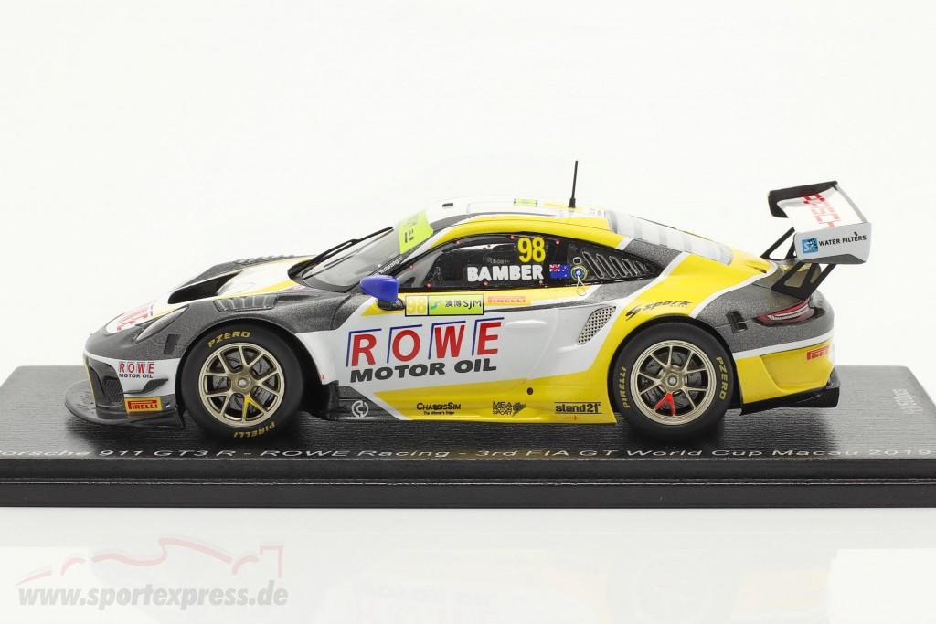 Porsche 911 GT3 R #98 3rd FIA GT World Cup Macau 2019 Earl Bamber