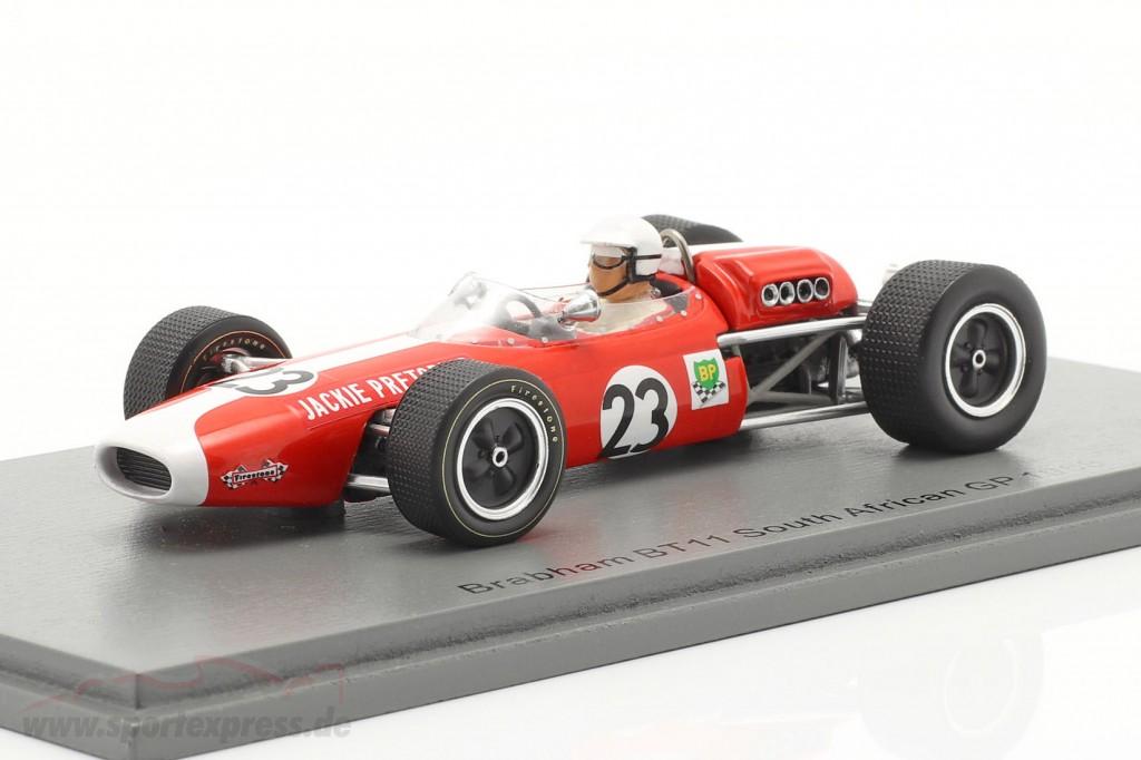 Jackie Pretorius Brabham BT11 #23 South Africa GP formula 1 1968