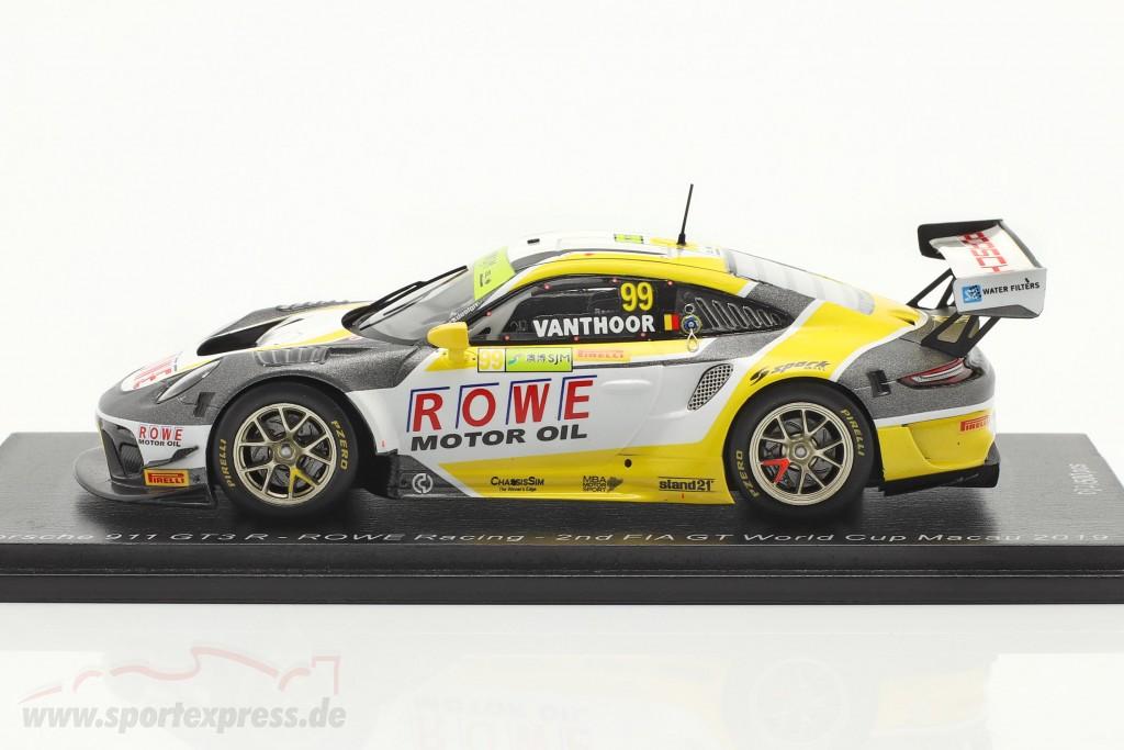Porsche 911 GT3 R #99 2nd FIA GT World Cup Macau 2019 L. Vanthoor