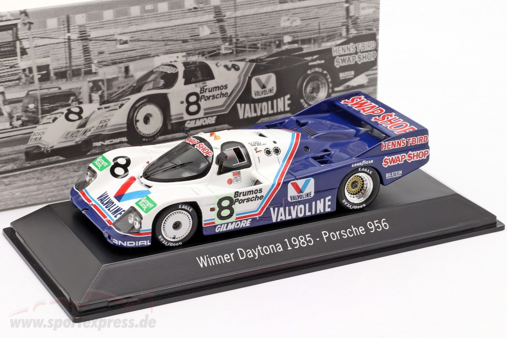 Porsche 956 #8 Winner 24h Daytona 1985 Henn's Swap Shop Racing