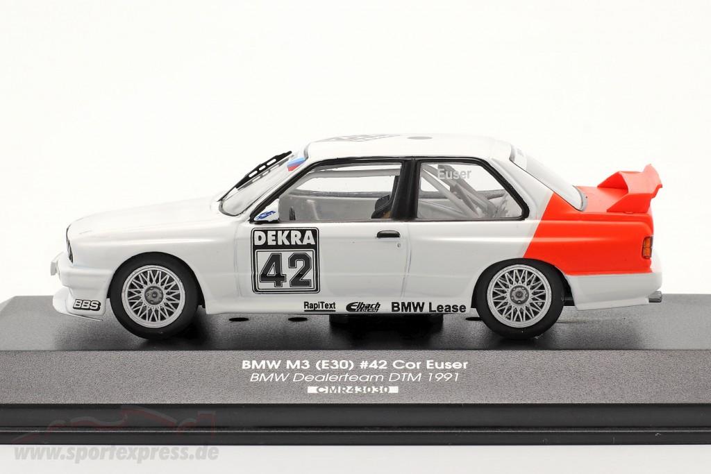 BMW M3 (E30) #42 DTM 1991 Cor Euser   / 2. choice