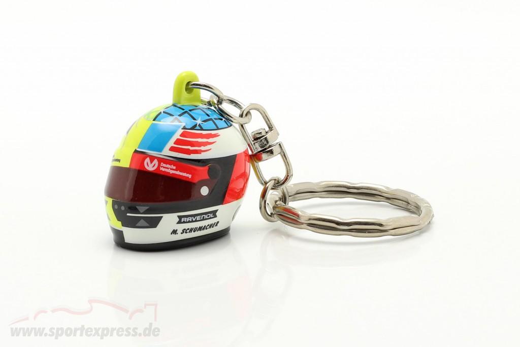 Mick Schumacher 3D Key chain helmet 2017 Spa