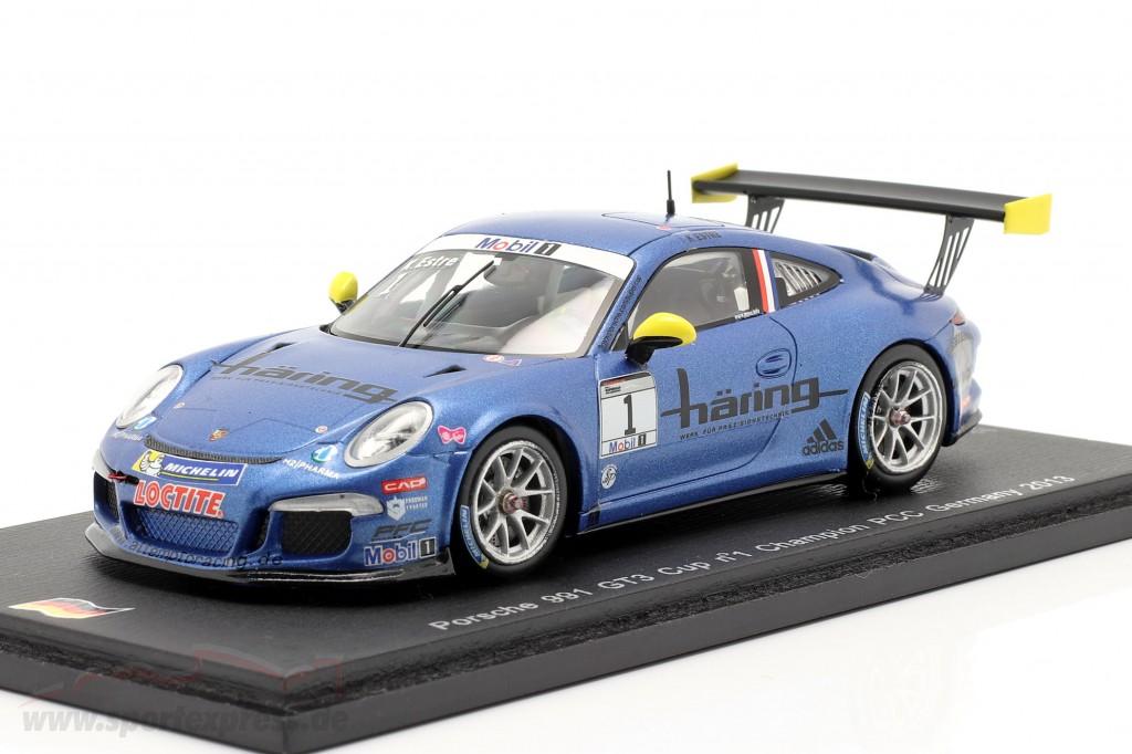 K. Estre Porsche 911 (991) GT3 Cup #1 Champion Germany PCC 2013