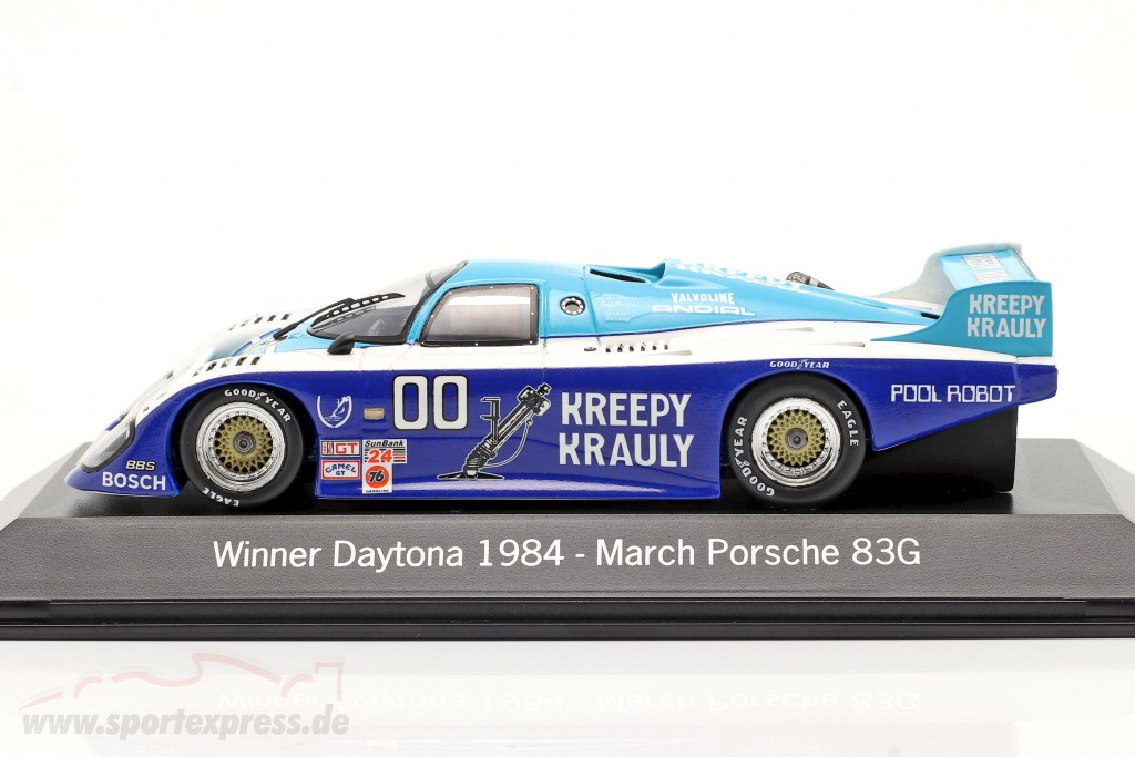 March Porsche 83G #00 Winner 24h Daytona 1984 Kreepy Krauly Racing