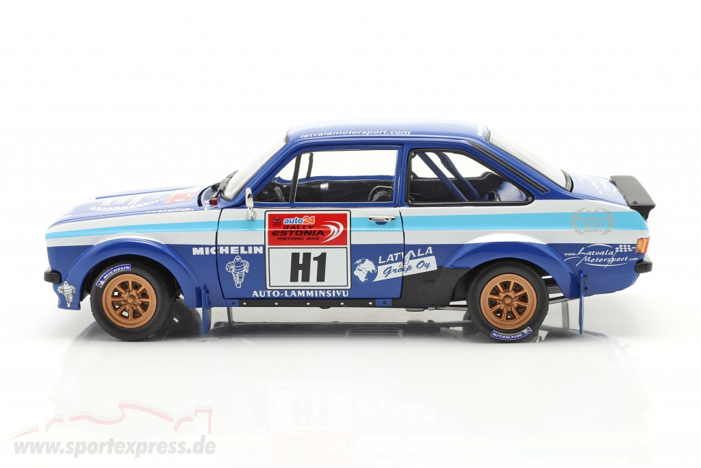 Ford Escort RS 1800 #1 winner Rallye Estonia Historic 2012  SunStar
