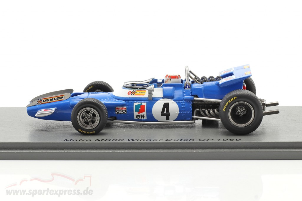 J. Stewart Matra MS80 #4 Winner Dutch GP formula 1 World Champion 1969