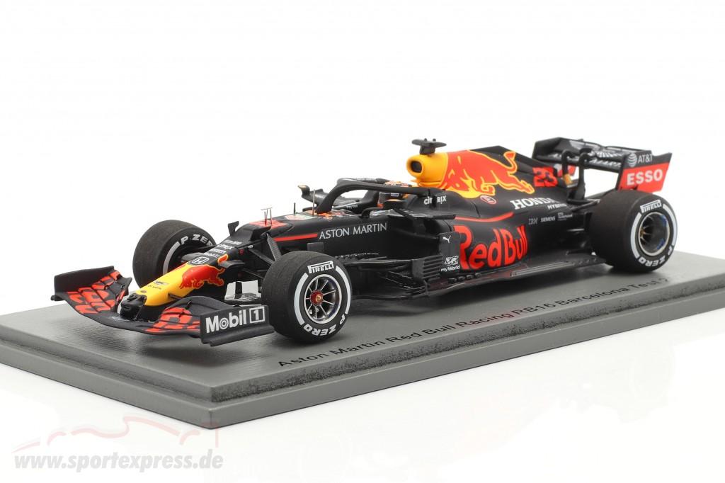 Alexander Albon Red Bull Racing RB16 #23 Barcelona Test formula 1 2020