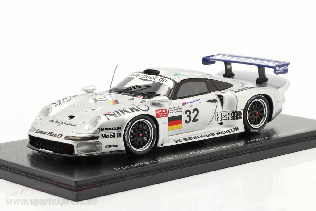 Porsche 911 GT1 #32 24h LeMans 1997 McNish, Ortelli, Wendlinger