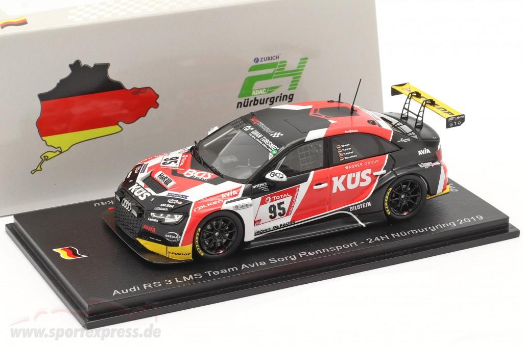 Audi RS3 LMS #95 24h Nürburgring 2019 Avia Sorg Rennsport