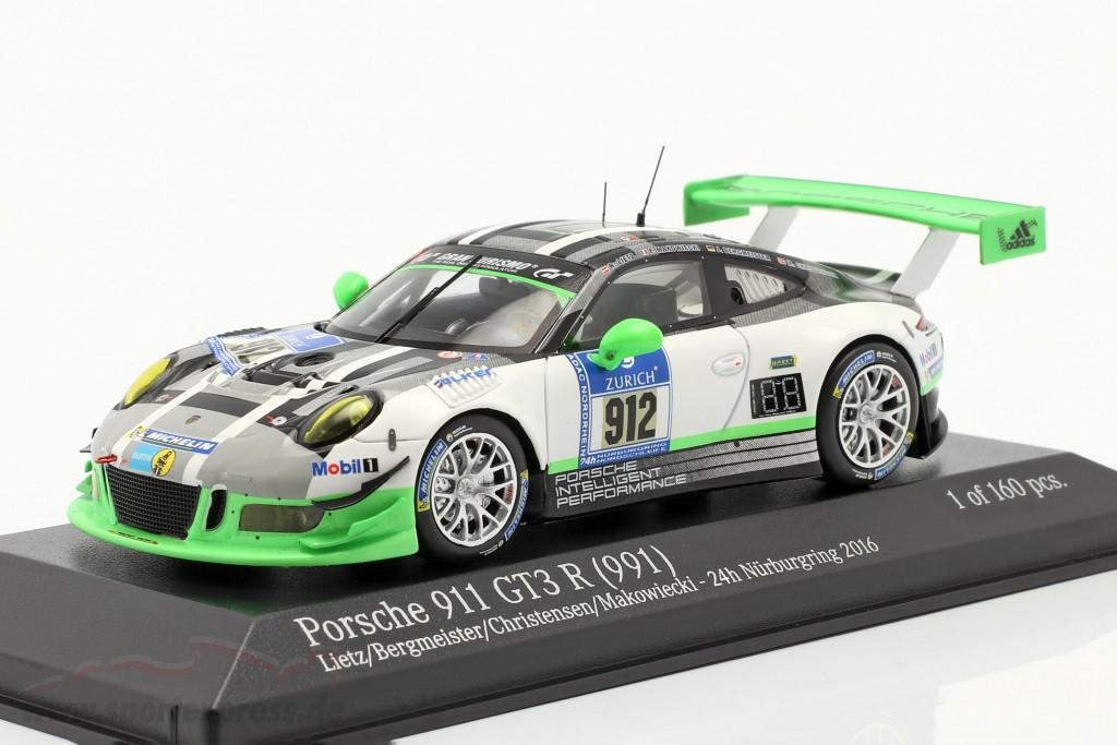 Porsche 911 GT3 R #912 24h Nürburgring 2016 Manthey Racing