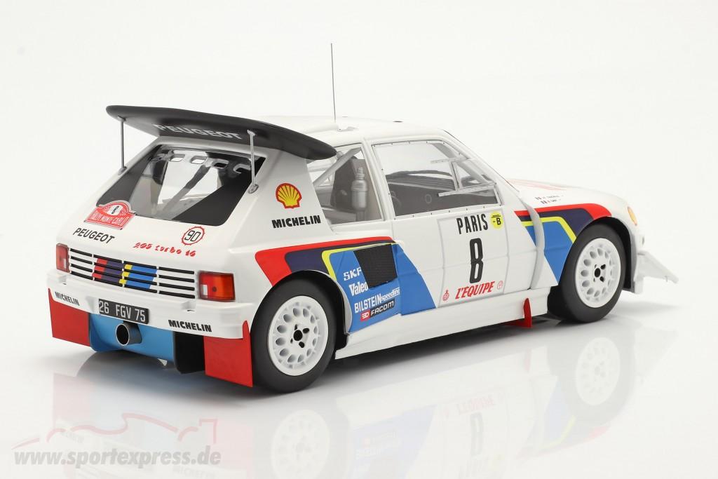 Peugeot 205 T16 E2 #8 6th Rallye Monte Carlo 1986 Saby, Fauchille