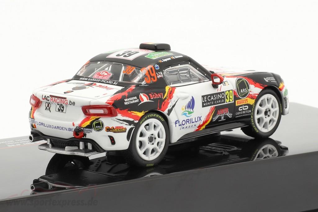 Fiat Abarth 124 RGT #39 Rallye Monte Carlo 2020 Caprasse, Herman