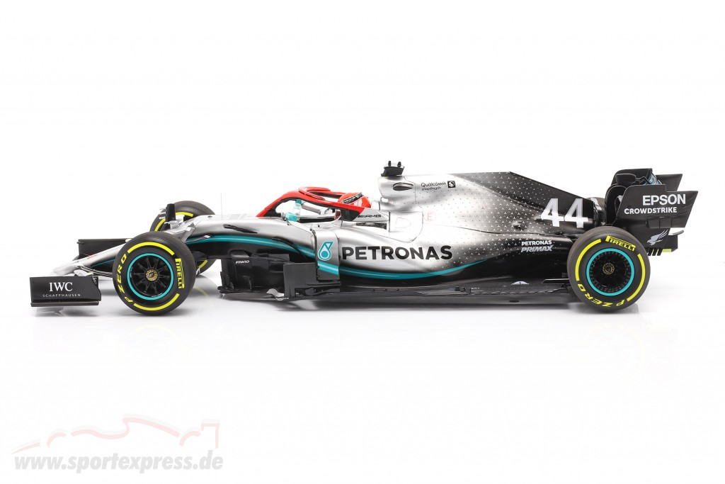 L. Hamilton Mercedes-AMG F1 W10 #44 Monaco GP World Champion F1 2019