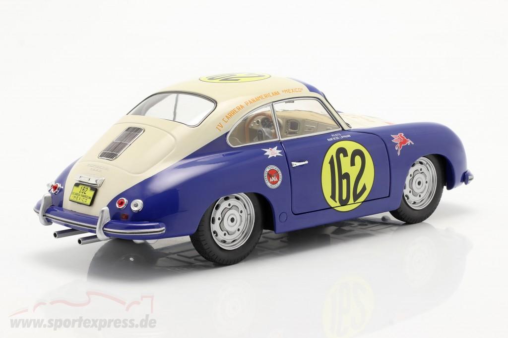 Porsche 356 Super #162 Carrera Panamericana 1953 Lippmann