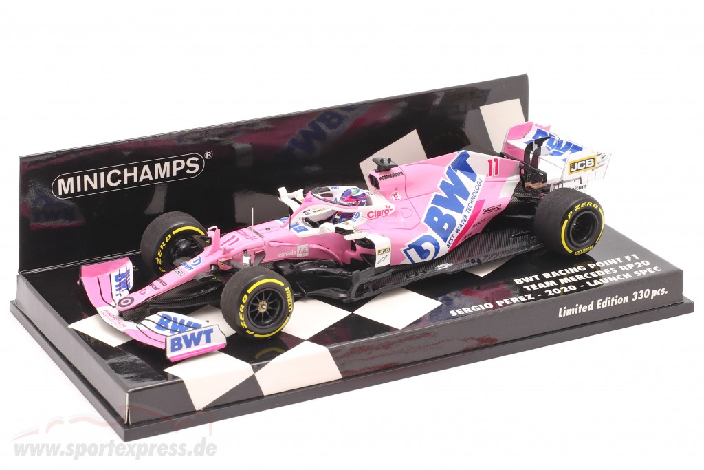 Sergio Perez Racing Point RP20 #11 Launch Spec formula 1 2020