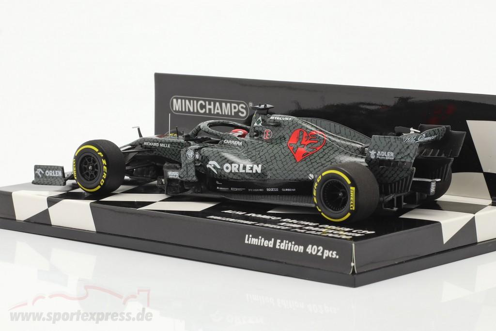 Kimi Räikkönen Alfa Romeo Racing C39 #7 Fiorano Shakedown 2020