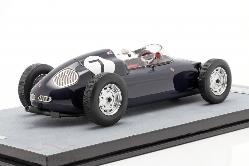 Stirling Moss Porsche 718 F2 #7 Winner B.A.R.C. Aintree 200 formula 2 1960