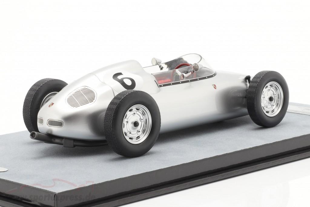 Graham Hill Porsche 718/2 #6 4th Solitude GP formula 2 1960