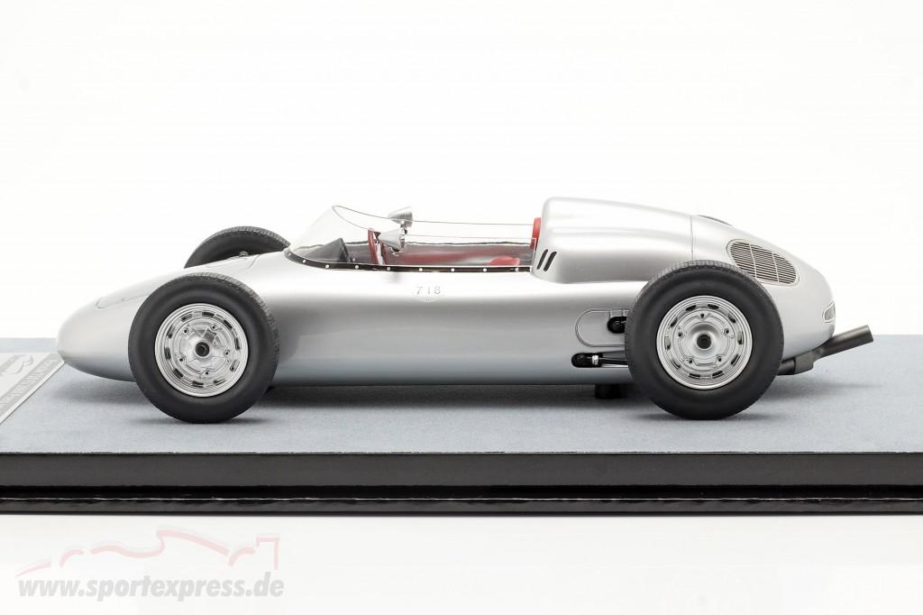 Porsche 718 F2 Press version 1960 silver