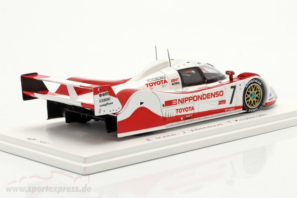 Toyota TS010 #7 3rd 500km Mine 1992 Irvine, Villeneuve, Kristensen