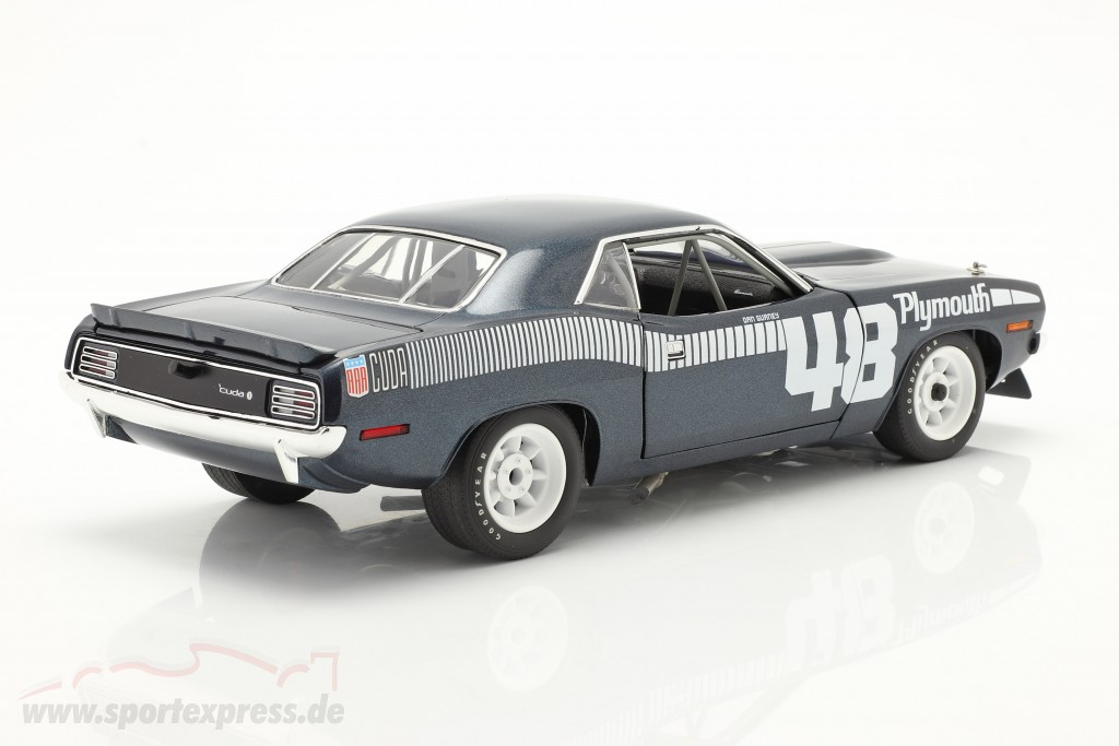 Plymouth Cuda AAR #48 1970 Pilot Car blue / white