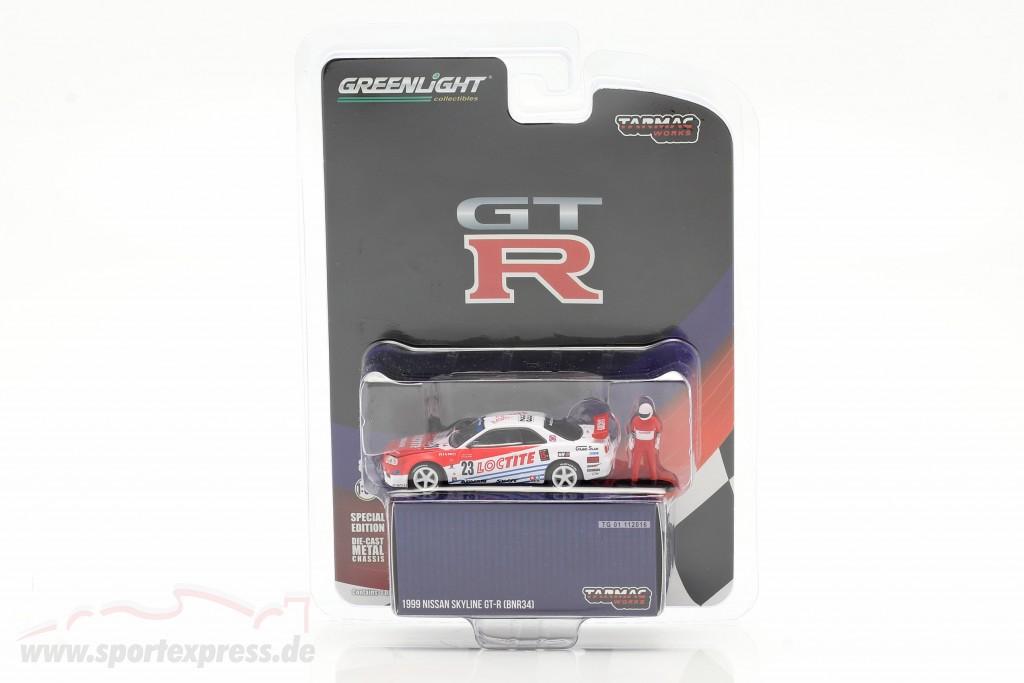Nissan Skyline GT-R (R34) #23 1999   / Greenlight
