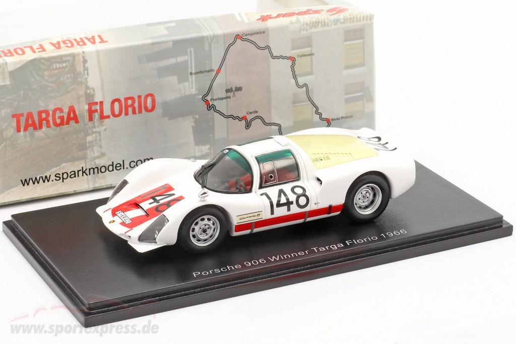 Porsche 906 #148 Winner Targa Florio 1966 Mairesse, Müller