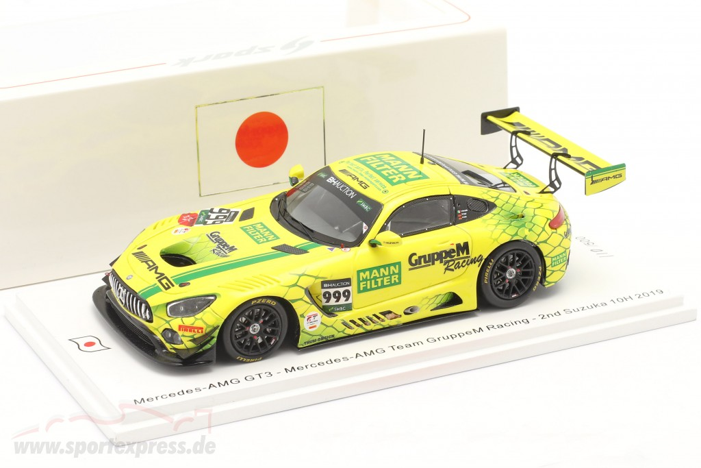 Mercedes-Benz AMG GT3 #999 2nd 10h Suzuka 2019 Buhk, Engel, Marciello
