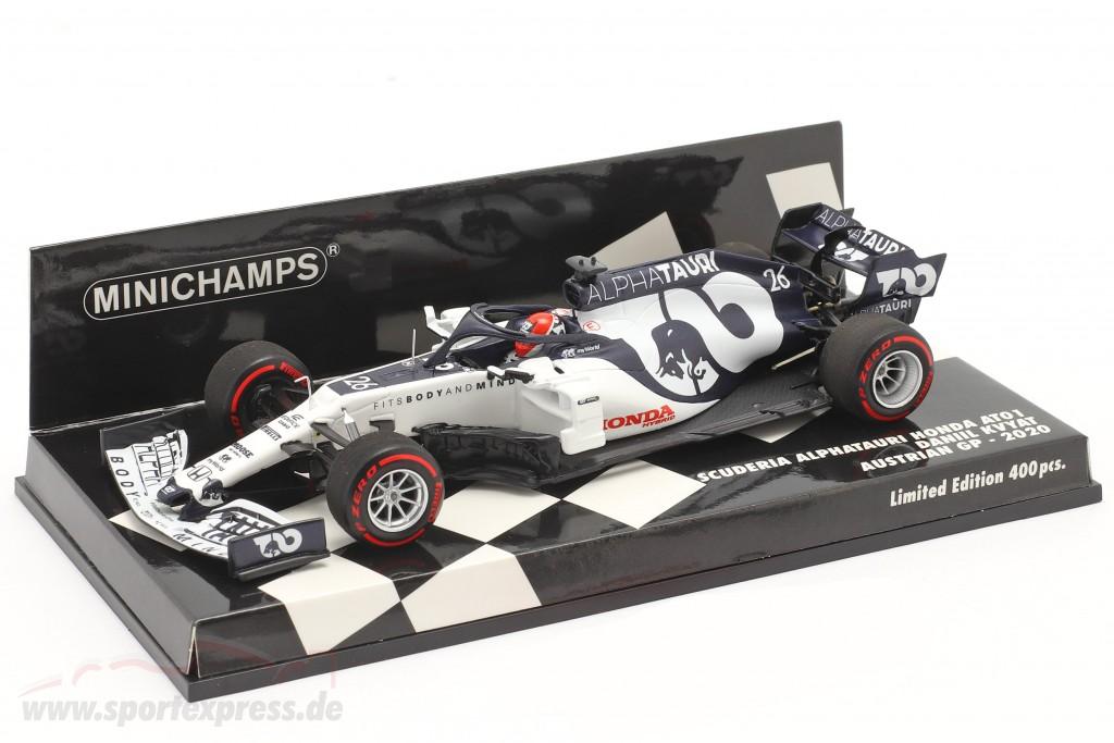 Daniil Kvyat Alpha Tauri AT01 #26 Austrian GP formula 1 2020