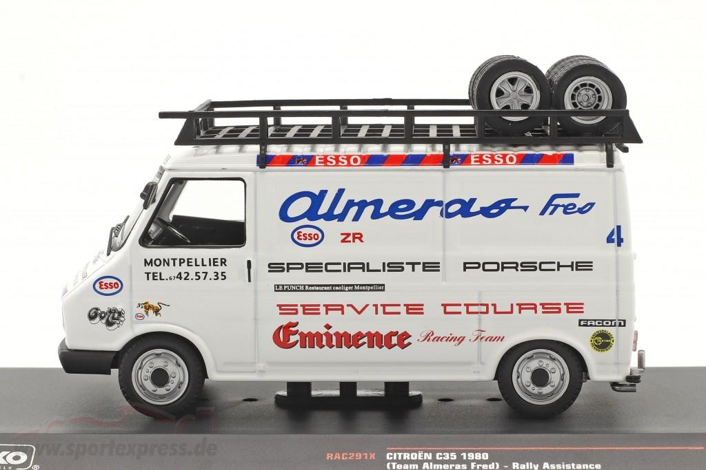 Citroen C35 Van 1980 Rallye Assistance Team Almeras Fres