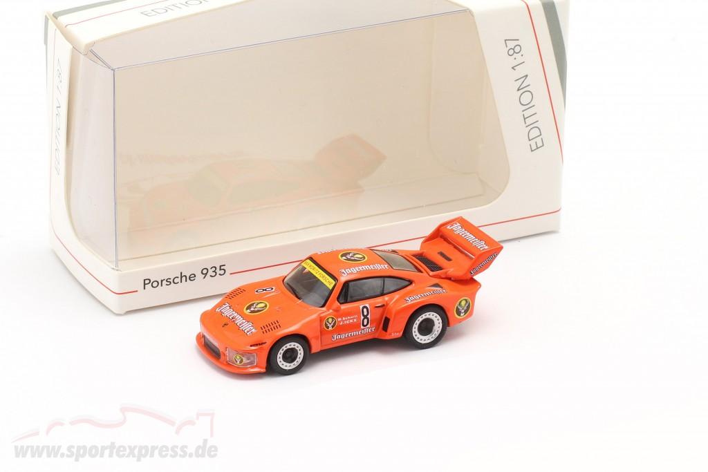 Porsche 935 Jägermeister #8 2nd 1000km Nürburgring 1978 Schurti, Ickx 1:87