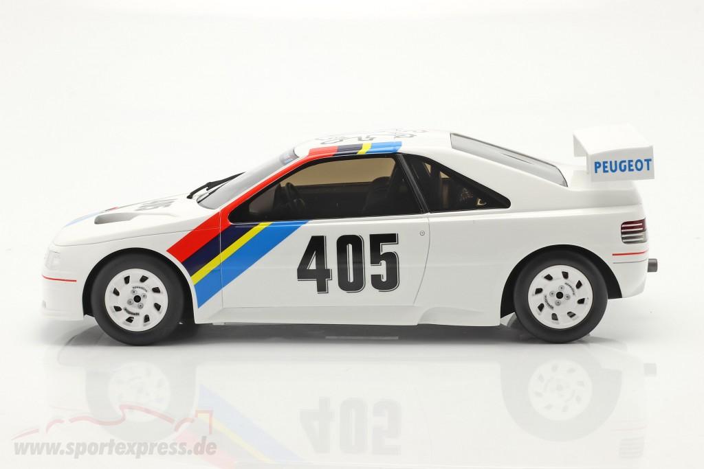 Peugeot 405 T16 Gr. S #405 Presentation Car 1988 white  OttOmobile