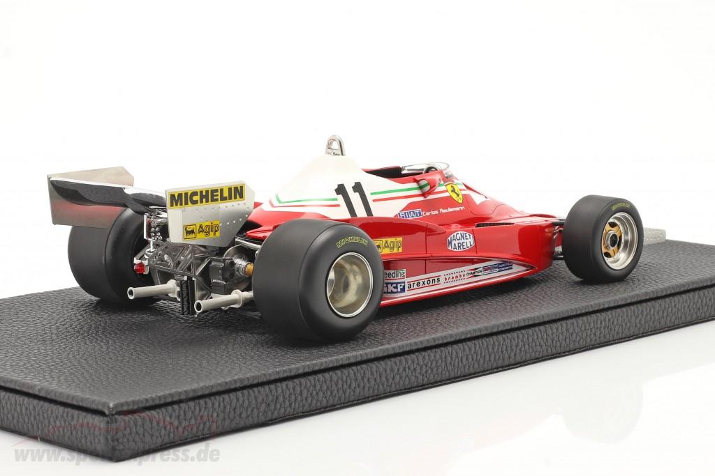 C. Reutemann Ferrari 312T2 #11 Winner Brazilian GP formula 1 1978