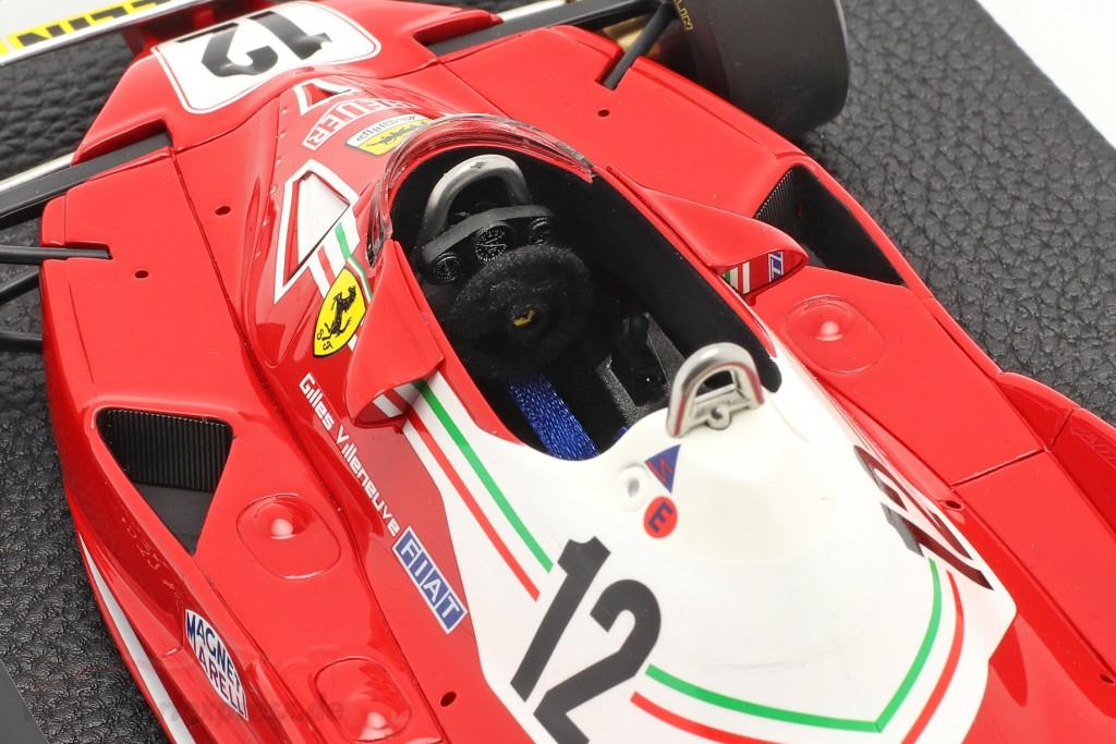 G. Villeneuve Ferrari 312T2 #12 Argentinian GP formula 1 1978
