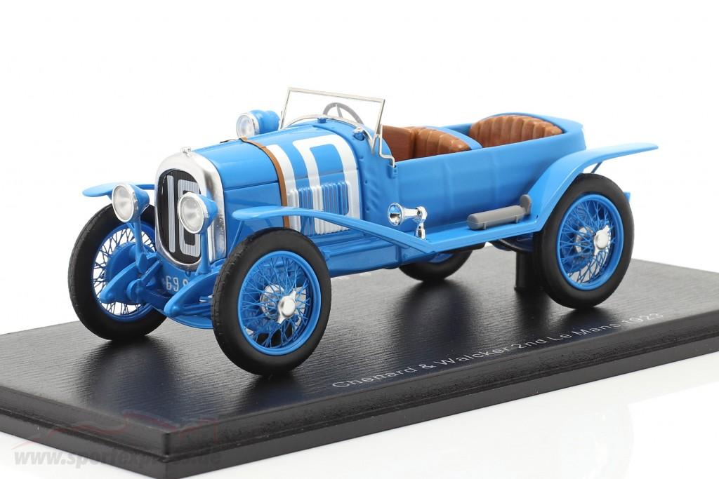 Chenard & Walcker Sport #10 2nd 24h LeMans 1923 Bachmann, Dauvergne  Spark
