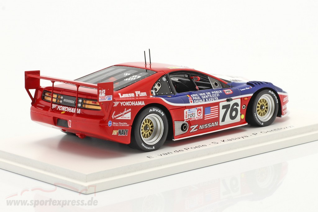 Nissan 300ZX Turbo #76 24h LeMans 1994 Clayton Cunningham Racing