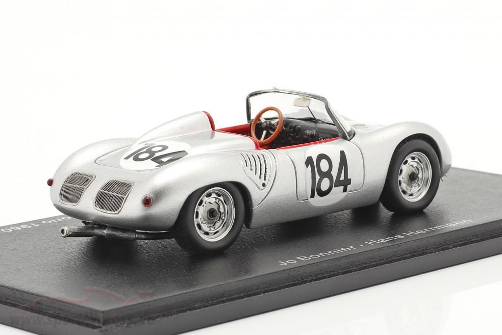 Porsche 718 RS 60 #184 winner Targa Florio 1960 Bonnier, Herrmann