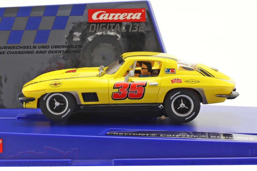 Digital 132 SlotCar Chevrolet Corvette Sting Ray #35  Carrera