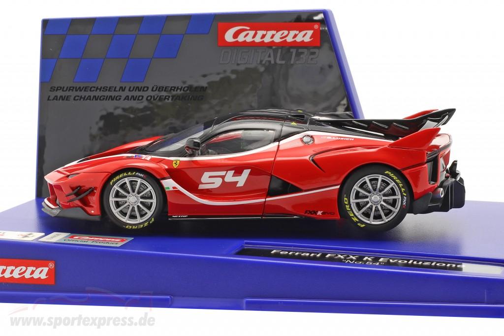 Digital 132 SlotCar Ferrari FXX K Evoluzione #54  Carrera