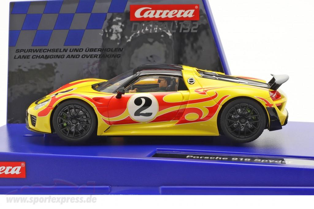 Digital 132 SlotCar Porsche 918 Spyder #2  Carrera
